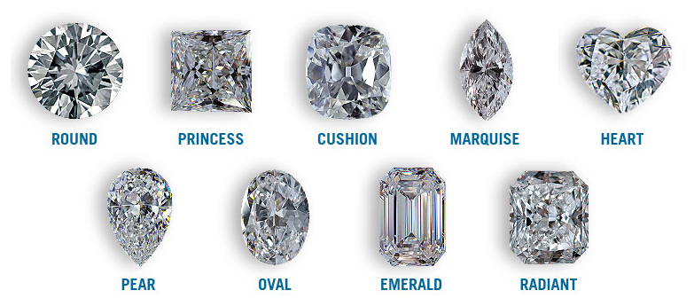 loose diamonds sold by cut, the shape of the diamond, the color of the diamond the clarity of a diamond and the carat or weight of the diamond choose your own diamond from Kranich's loose diamond collection