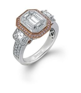 Simon G. Santa Monica Diamond Ring