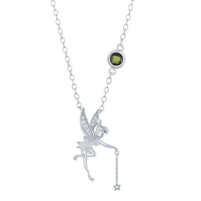 Tinker Bell Star Dangle Pendant in Sterling Silver image 2