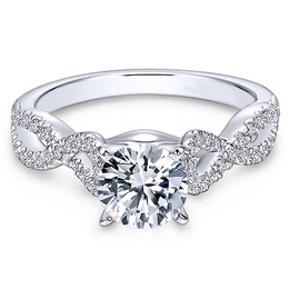 Exquisite Diamond Engagement Ring By Polenza