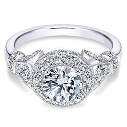 Exquisite Polenza Diamond Engagement Ring
