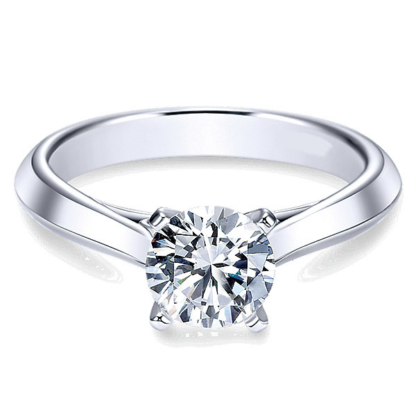 Stunning Solitaire Engagement Ring By Polenza