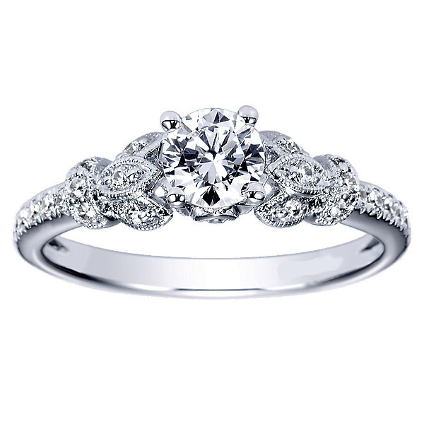 Exquisite Polenza Engagement Ring