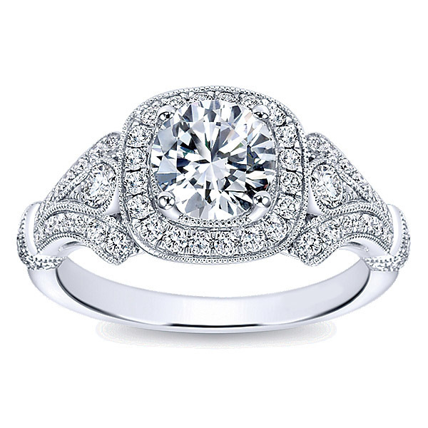 Striking Polenza Engagement Ring