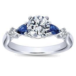 Brilliant Diamond Engagement Ring By Polenza