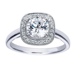 Sparkling Engagement Ring By Polenza