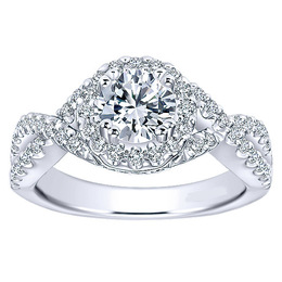 Eye-catching Polenza Engagement Ring
