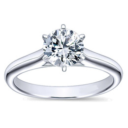 Timeless Diamond Engagement Ring By Polenza