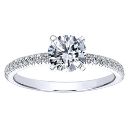 Timeless Polenza Engagement Ring