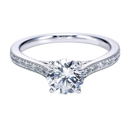 Elegant Diamond Engagement Ring By Polenza