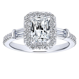 Elegant Polenza Engagement Ring