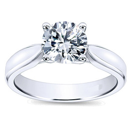 Elegant Polenza Solitaire Engagement Ring