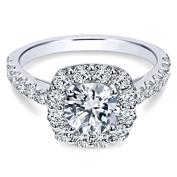Sparkling Polenza Engagement Ring