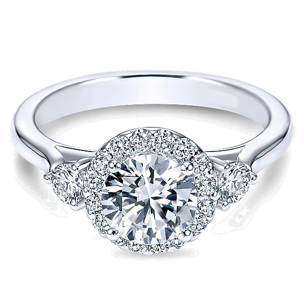 Diamond Engagement Ring By Polenza