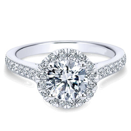 Breathtaking Polenza Engagement Ring