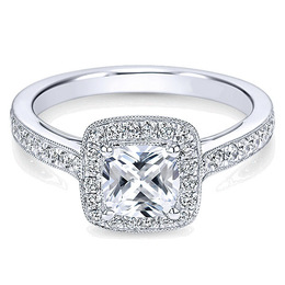 Stunning Diamond Engagement Ring By Polenza