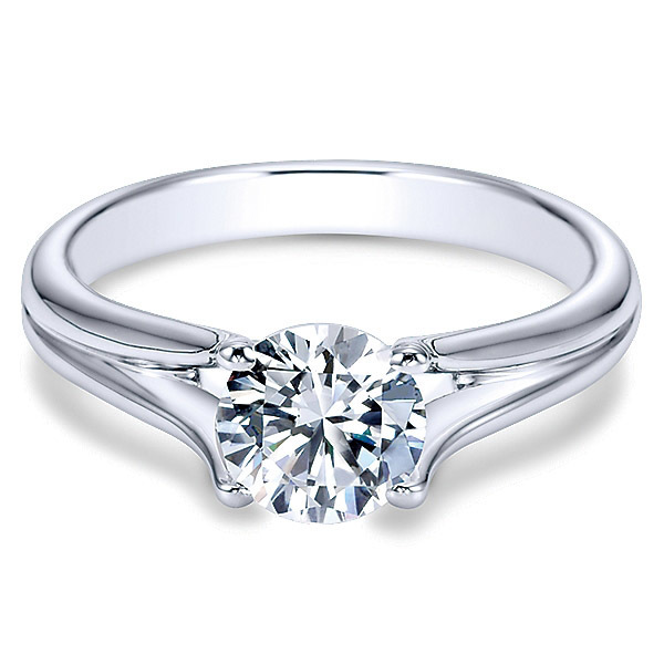 Classic 14K Polenza Engagement Ring