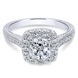 Polenza 14K Engagement Ring