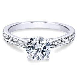 Flawless Engagement Ring By Polenza