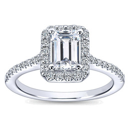 Alluring Polenza Engagement Ring