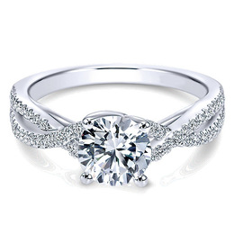 Brilliant 14K Polenza Engagement Ring