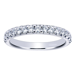 Sparkling Diamond Wedding Band By Polenza
