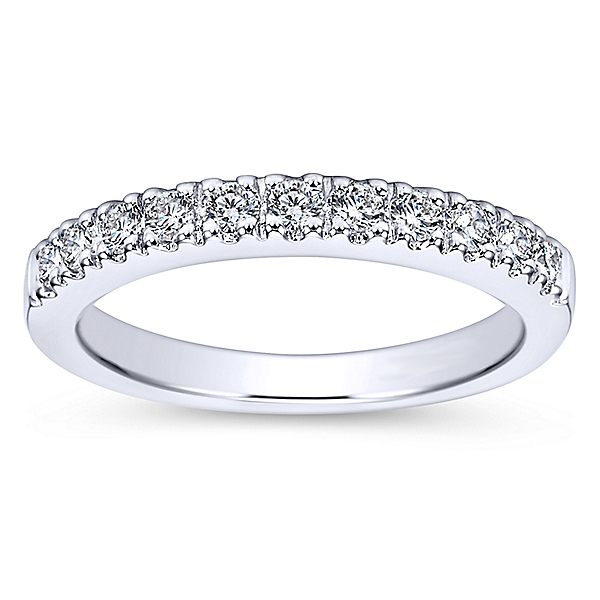 Timeless Polenza Diamond Wedding Band