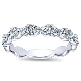 Fashionable Polenza Wedding Band