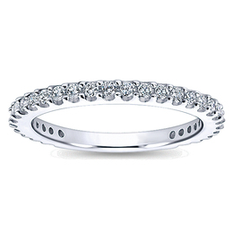 Elegant Diamond Wedding Band By Polenza