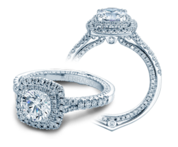 Verragio Couture 0425DCU Engagement Ring image 2