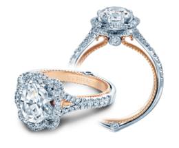 Verragio Couture 0426OV-TT Engagement Ring image 2