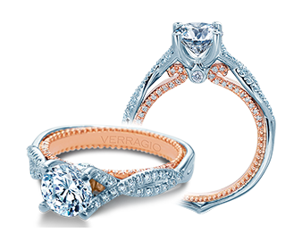 Verragio Couture 0446-2WR Engagement Ring image 2