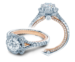 Verragio Couture 0426DR-TT Engagement Ring image 2