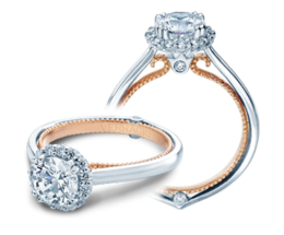 Verragio Couture 0419R-TT Engagement Ring image 2