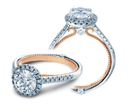 Verragio Couture 0420R-TT Engagement Ring image 2