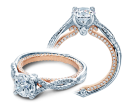 Verragio Couture 0421DR-TT Engagement Ring image 2
