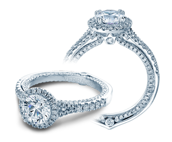 Verragio Couture 0424DR Engagement Ring image 2