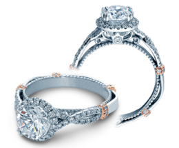 Verragio Parisian DL106R Engagement Ring image 2
