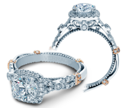 Verragio Parisian DL109CU Engagement Ring image 2