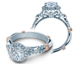 Verragio Parisian DL109R Engagement Ring image 2