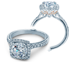 Verragio Couture 0430DCU-TT Engagement Ring image 2