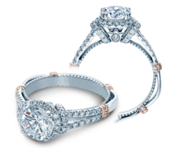 Verragio Parisian DL117R Engagement Ring image 2