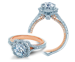 Verragio Couture 0444-2WR Engagement Ring image 2