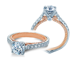 Verragio Couture 0445-2WR Engagement Ring image 2