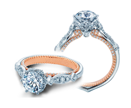 Verragio Couture 0443R-2WR Engagement Ring image 2