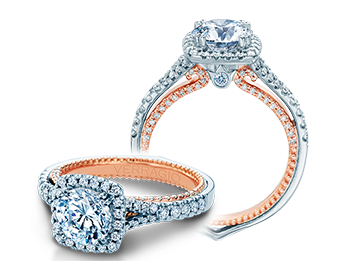 Verragio Couture 0448CU-2WR Engagement Ring image 2
