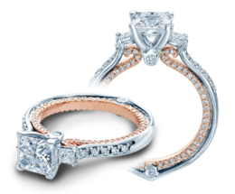 Verragio Couture 0422DP-TT Engagement Ring image 2