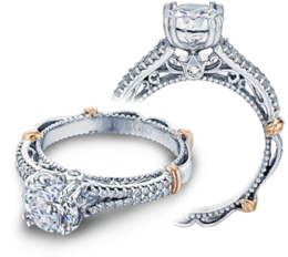 Verragio Parisian 111 Engagement Ring with Diamond image 2