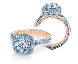 Verragio Couture 0434CU-TT Engagement Ring image 2