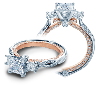Verragio Couture 0423DP-TT Engagement Ring image 2